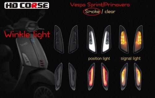 Bộ đèn xi nhan HD Course cho Sprint Primavera 002