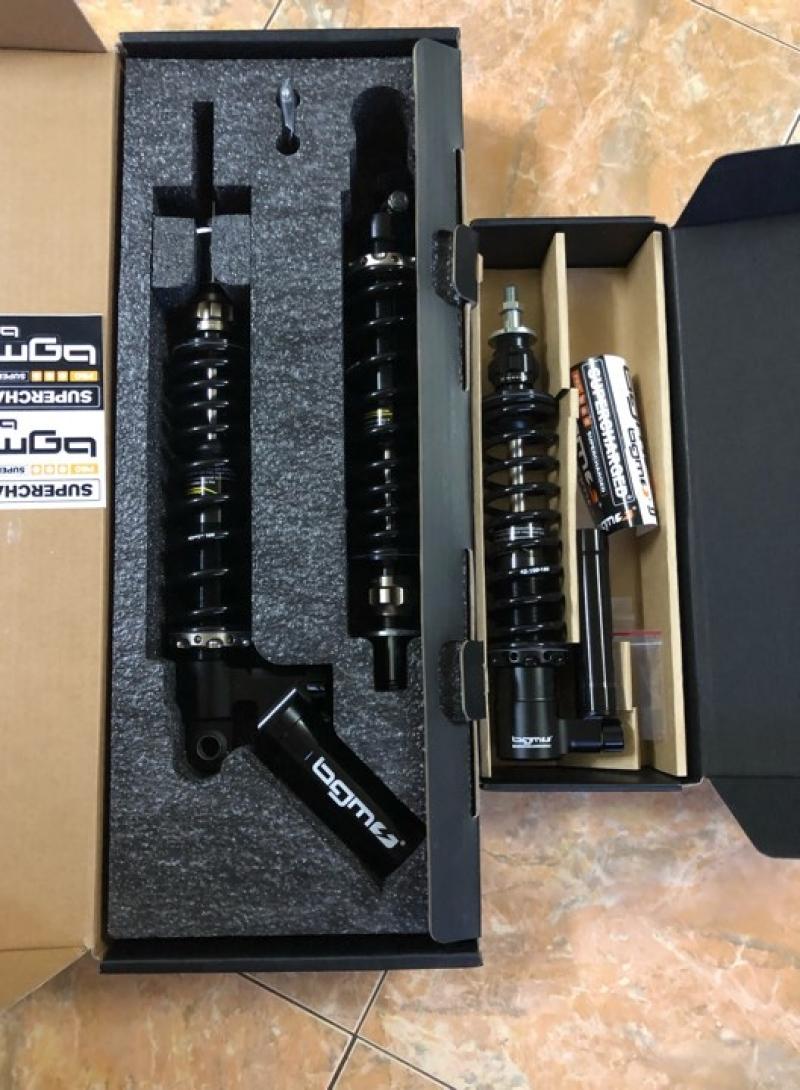 Set phuộc nhún BGM GTS cho Vespa chính hãng 001