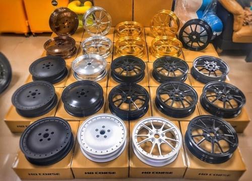 Mâm HD Course nhiều mẫu thể thao cho xe máy Vespa 003